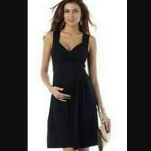 Seraphine  Dresses & Skirts - Maternity Dress M LBD Black Seraphine Cocktail NEW