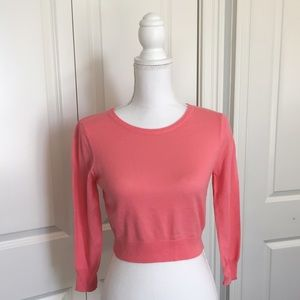 ASOS Sweaters - Cropped coral sweater