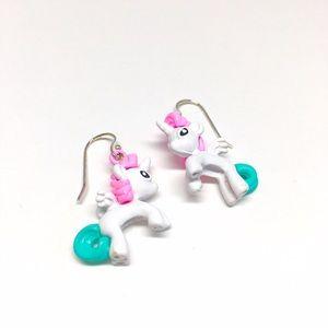 Jewelry - Metal Unicorn Earrings