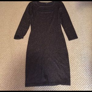 Like New sparkly Express sweater dress!