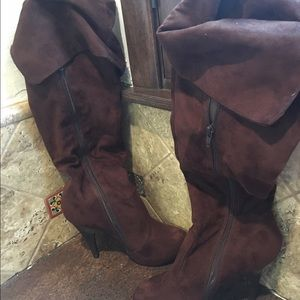 Anne Michelle Shoes - Anne Michelle Knee High Boots Worn Once