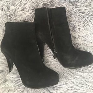 Cynthia Rowley Shoes - Cynthia Rowley Black Suede Boots