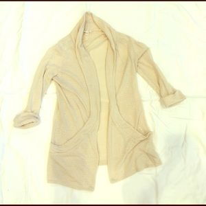 Cream delicate cardigan from urban outfitters