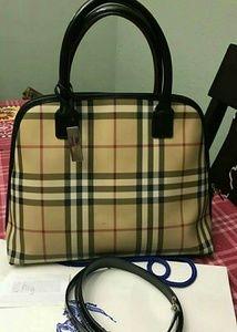 Burberry Handbags - Price drop!Authentic Burberry London Satchel