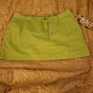 Tailor Vintage Dresses & Skirts - Adorable Tailor Vintage Reversible Mini Skirt sz 6