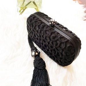 Bottega Veneta Handbags - Auth Bottega Veneta Black Clutch $2600
