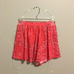 Adorable Hollister Flounce Shorts