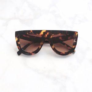 Style Link Miami Accessories - ▫️NEW▫️CHEETAH PRINT FLAT TOP SUNGLASSES