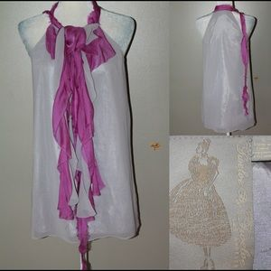 Twenty8Twelve Dresses & Skirts - 🎈SALE🎈FRANCESCA'S raw edge sheath dress