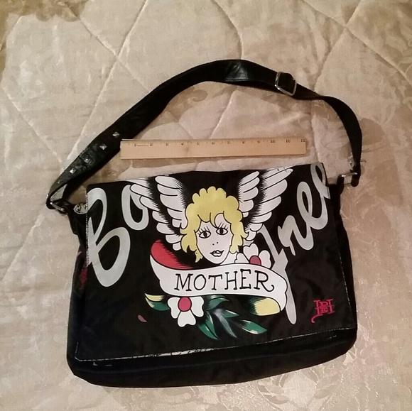 55a3fb2563b4 Ed Hardy Handbags - Ed Hardy diaper bag or Messenger bag
