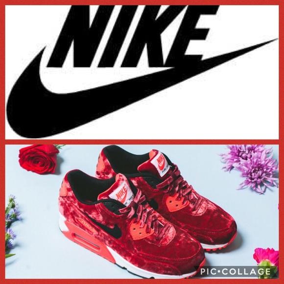 Nike Air Max 90 Anniversary Women 7.5 Red Velvet Nike Air