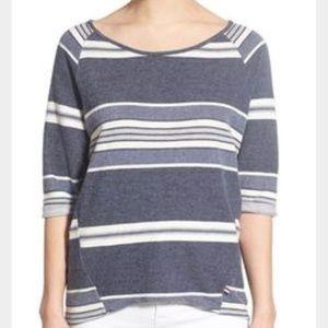 Sol Angeles Tops - NWT Sol Angeles knit shirt medium striped blue
