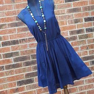 FIRM🎯New LAUREN CONRAD Small Blue Summer Dress