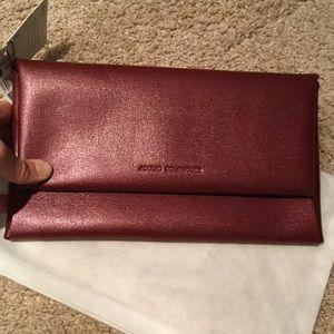 ADOLFO DOMINGUEZ Handbags - 🇪🇸SPANISH DESIGNER!  Oxblood leather Clutch 🇪🇸