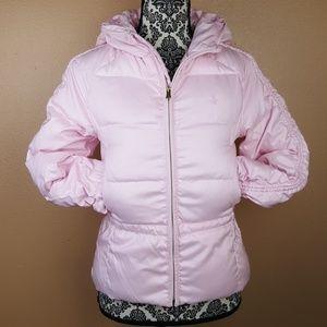 🌟 Ralph Lauren Girls Puffer Pink Jacket Large