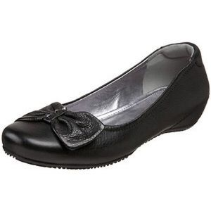 Ecco Shoes - FLASH SALE Ecco leather bow ballet flat