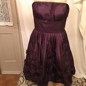 Bill Levkoff Dresses & Skirts - NWT Bill Levkoff Strapless Plum Dress