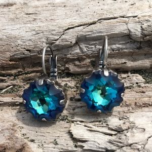 Jewelry - Handcrafted earrings with Swarovski crystal #149
