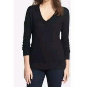 Classiques Entier Sweaters - Classiques Entier Deep V-Neck Cashmere Sweater Top
