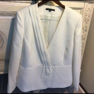 Preston & York Jackets & Blazers - Preston & York Off-white Peplum Blazer.17145