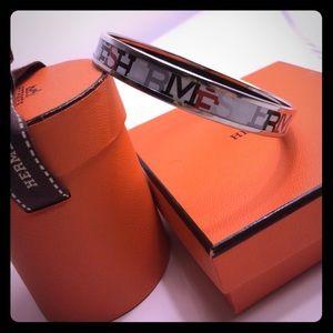 Hermes Jewelry - Hermès Capitales Enamel Bracelet - Authentic