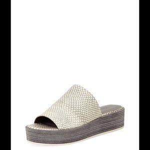 82f3266f731 Vince Shoes - ⚡️FLASH⚡️Vince Saskia 2 Embossed Platform Slide