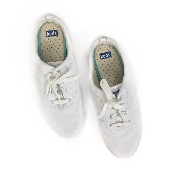 Keds Shoes   White Slip On Mule Tennis