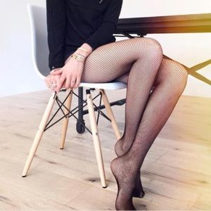 Accessories - Micro Fishnet Tights