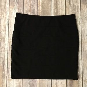Body-con mini skirt