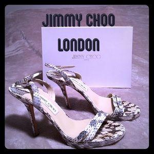 Jimmy Choo sling back heels