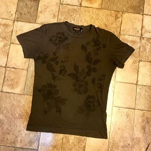 Diesel Black Gold Other - Diesel Black Gold Gray Short Sleeve Tee Shirt