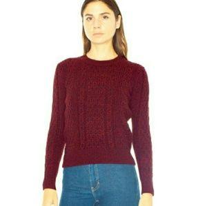 NWT AA Honeycomb sweater