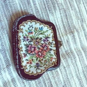 Vintage 50's handstiched coin purse