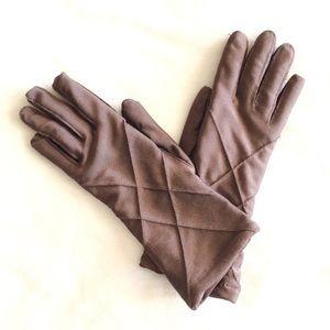Accessories - Chocolate Brown Gloves