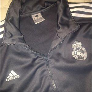 Grey Adidas Track Suit Jacket