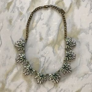 Baublebar Light Blue/Green Statement Necklace