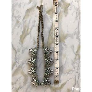 Jewelry - Baublebar Light Blue/Green Statement Necklace