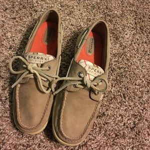 Sperry TopSider Plaid Boat Shoes