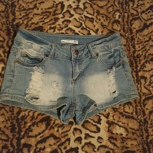 2.1 Denim  Pants - Jean shorts