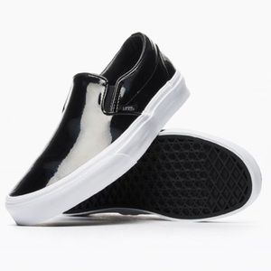 Vans Shoes - Vans classic black slip ons