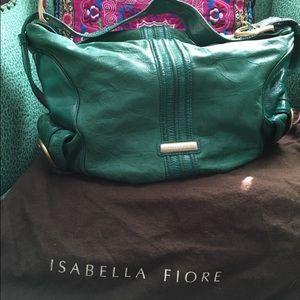 Isabella Fiore Handbags - SALE 💰Isabella Fiore Hobo 💚 (Genuine Leather)