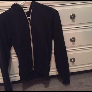 American apparel zip up jacket