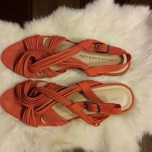 Loeffler Randall Shoes - LOEFFLER RANDAL slingback flats. ,size:8