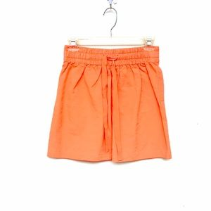 J.CREW Orange Mini Skirt