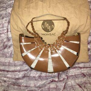 Monsac basket purse