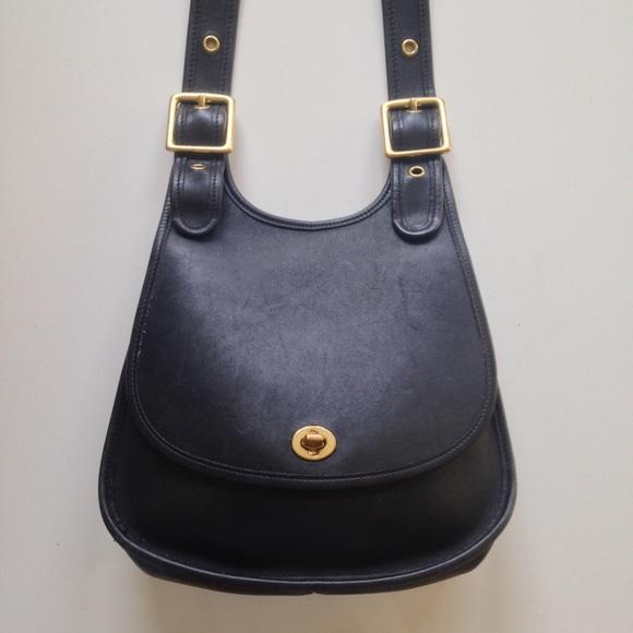 Coach Bags   Vintage Crescent Shoulder Bag   Poshmark f12189a3f3