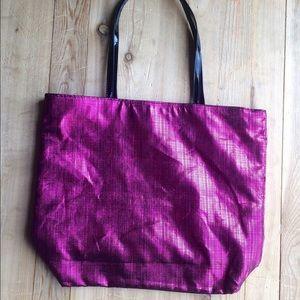 Saks 5th avenue small pink bag