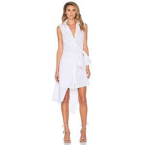 TY-LR Dresses & Skirts - TY-LR The Rapid Asymmetric Sleeveless Shirt Dress