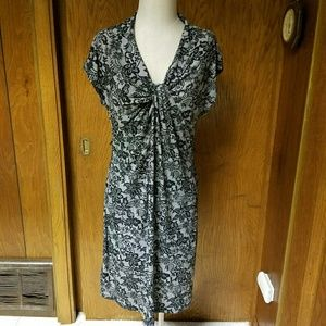 Motherhood Maternity Dresses & Skirts - Motherhood Maternity Womens Black Floral Dress L