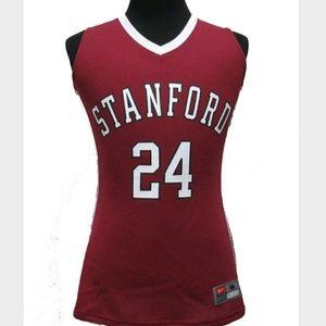 Nike Stanford Cardinals Basketball Jersey Womens M